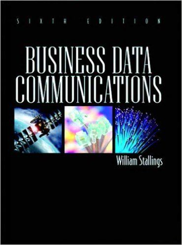 solution manual business data communications 6th edition by william rh pinterest com Business Communication Systems business data communications and networking solution manual