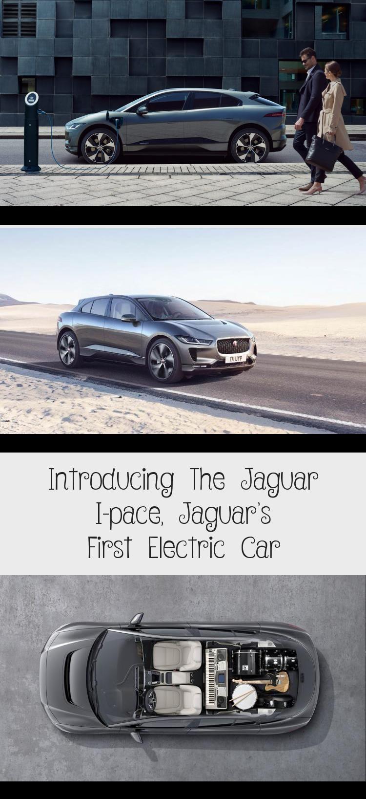 Introducing The Jaguar I Pace Jaguar S First Electric Car Technology In 2020 Jaguar Electric Car Car
