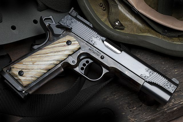 Classic Supergrade with Mastodon Grips by wilson combat ...