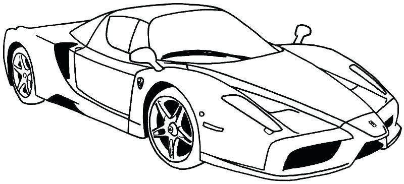 Printable Lamborghini Coloring Pages In 2020