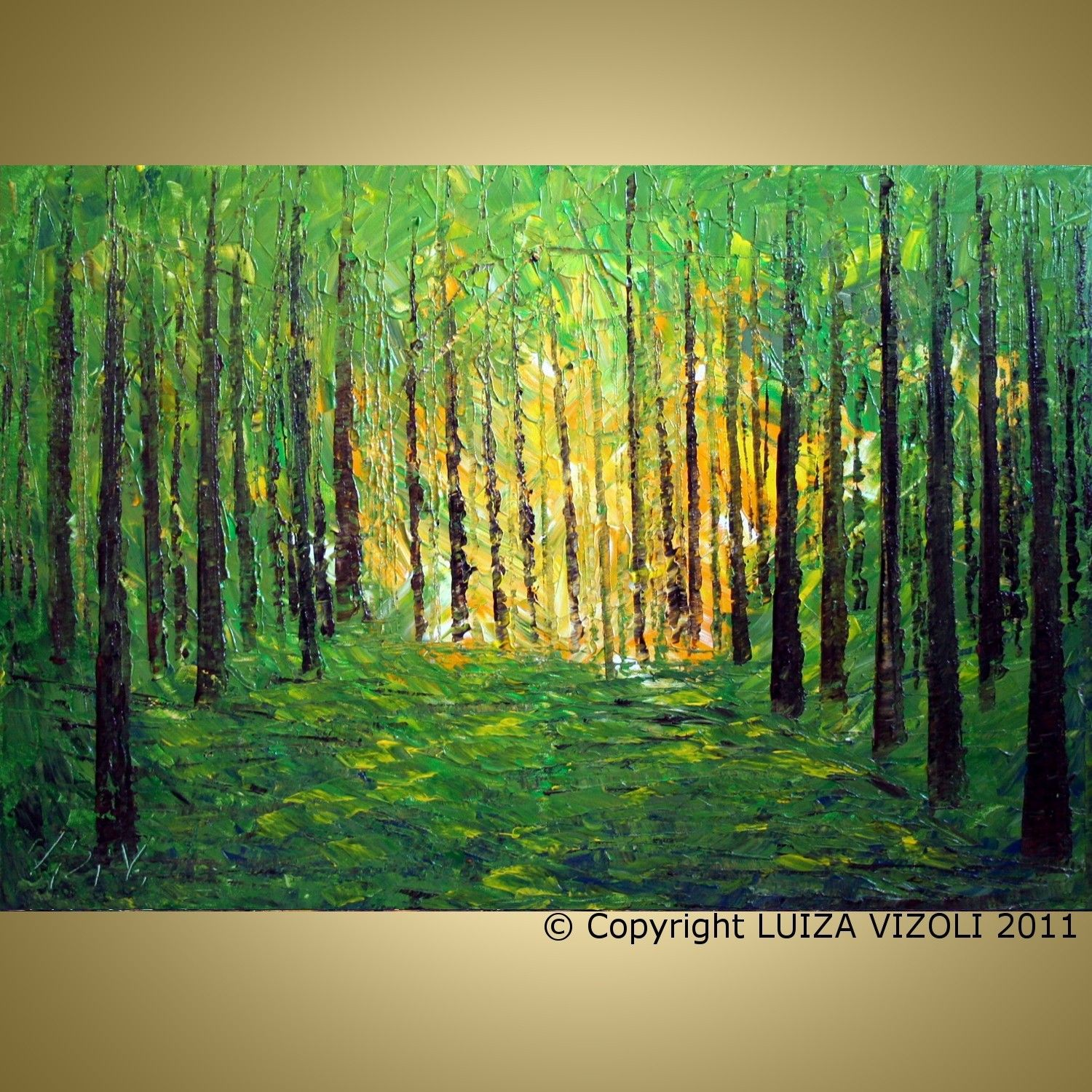 Pin By Susan Timpson On Painting Inspiration Birches Painting Oil Painting Abstract Forest Painting