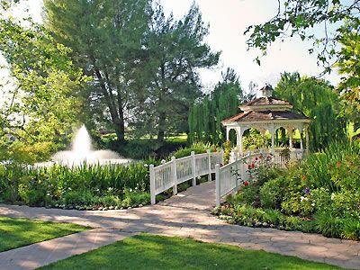 Westlake Village Inn garden weddings Los Angeles wedding location ...