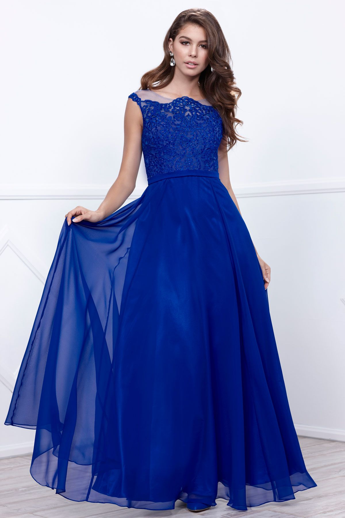 Long evening dress nx full length aline formal evening gown