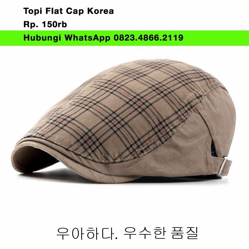 HOT ! Model Baru Topi Copet Flat cap Ivy Newsboy Cabbie HOT ! Model ... a31b9987c2