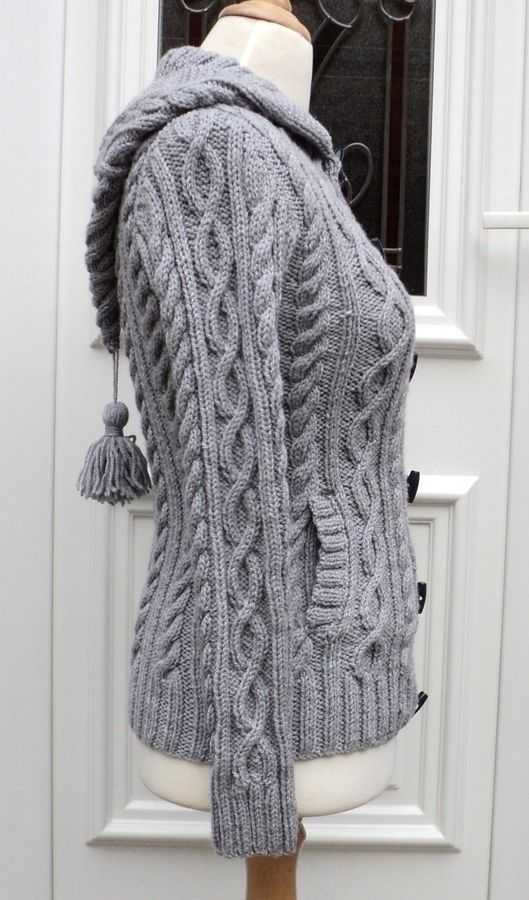 Explication veste tricot femme