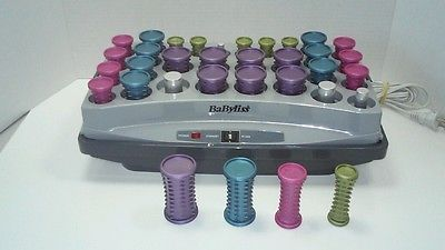 Babyliss Pro Ionic Professional Ceramic Roller Hot Hair Setter Babhs30 Unisex Hot Rollers Hair Hot Rollers Babyliss