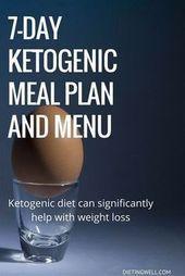 The 7Day Ketogenic Diet Meal Plan   A Beginners Guide  Dies ist ein detaillierter Speiseplan für eine ketogene Diät die auf echten Lebensmitteln basiert und ein...
