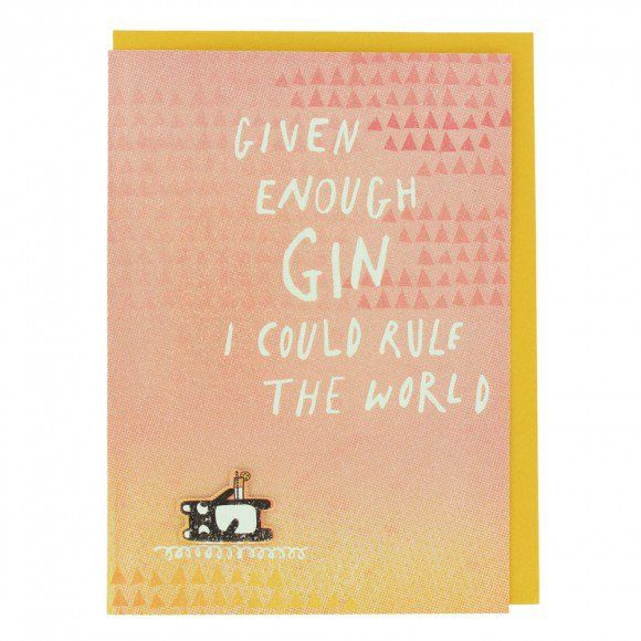Given Enough Gin Birthday Card Paperchase Goodies Pinterest