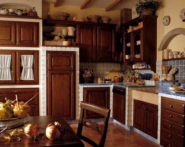 Cucina Soggiorno Country.Cucina Stella Cucine Country Cucine Classiche Cucina