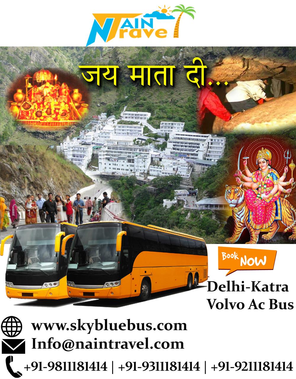 Delhi Katra (2x2 A/C Luxury Coach & Volvo 2x2 A/c Coach