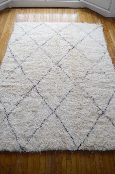tapis beni ouarain numa 228x170cm - Tapis Beni Ouarain