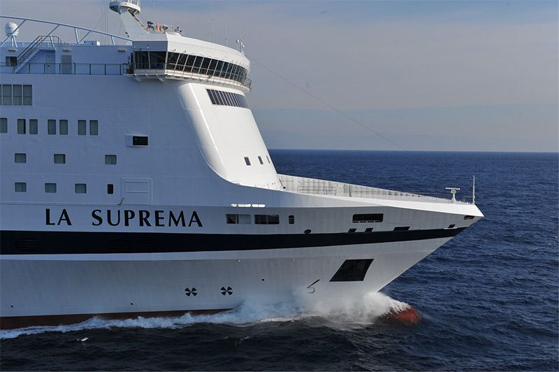 This is our ship LA_SUPREMA 211.50 metres long 29