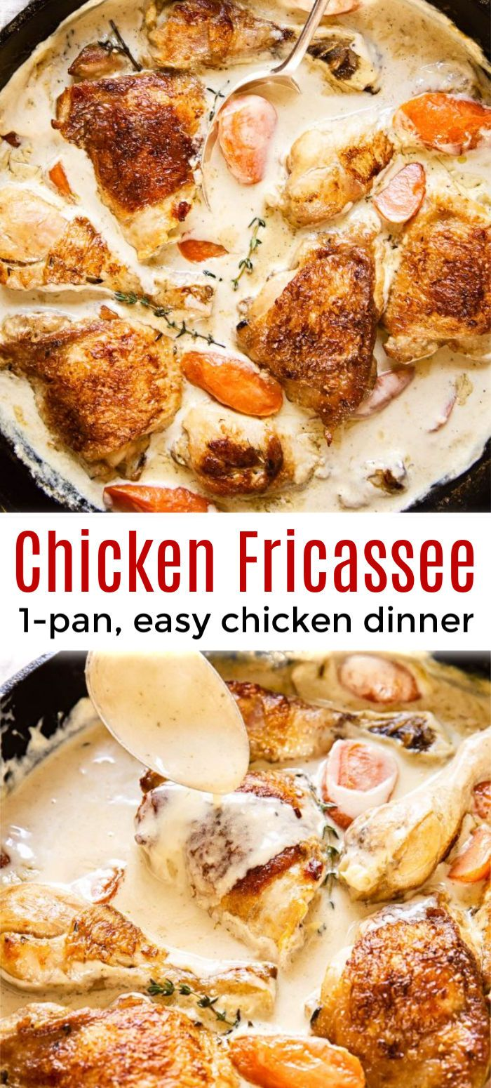 Photo of Chicken Fricassee Recipe