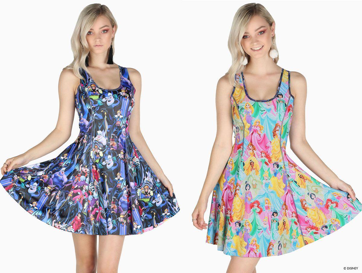 93c214db0c Disney Villains Vs Disney Princesses Inside Out Dress 2.0 – LIMITED  ($179AUD) by BlackMilk Clothing
