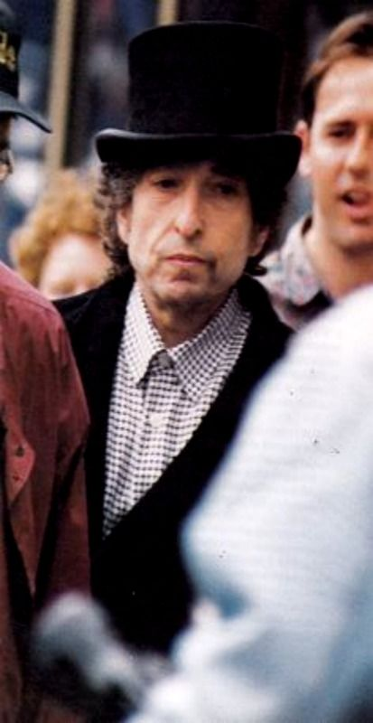 Bob pictured in Camden Town, London in 1993.