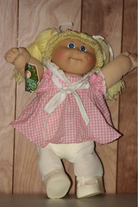 Sonia This Was Your First Cabbage Patch Doll I Still Have It Cabbage Patch Dolls Cabbage Patch Kids Cabbage Patch