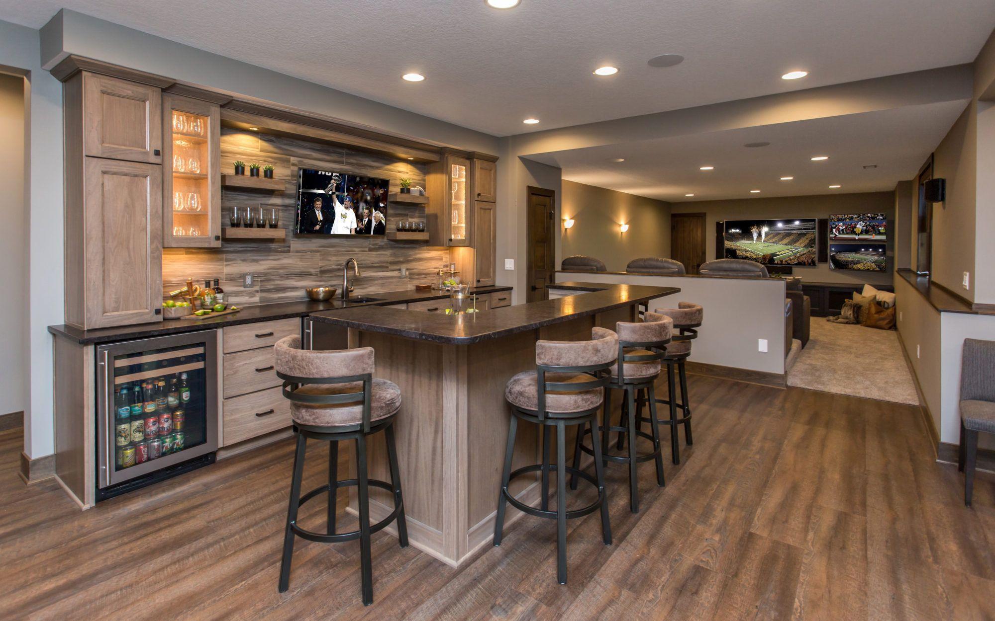 Basement Remodeling Gallery – Red House Remodeling  Diseños de