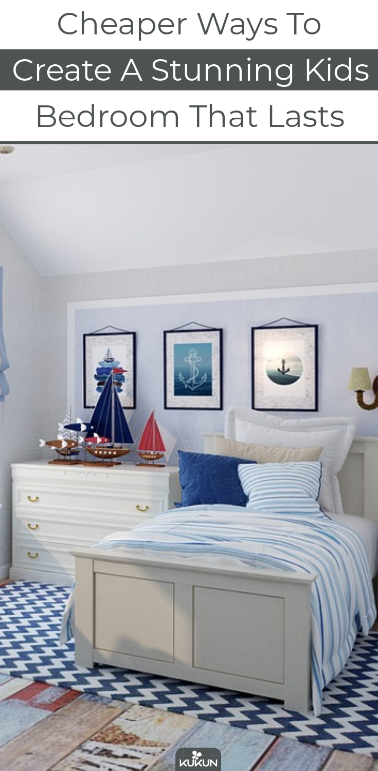Cheaper Ways to Create a Stunning Kids Bedroom that Lasts is part of Cheap bedroom Ideas - Every parent wants only the best for their kids, so it's not a miracle adults often go a little overboard with all the decoration, color, and toys, spending way too