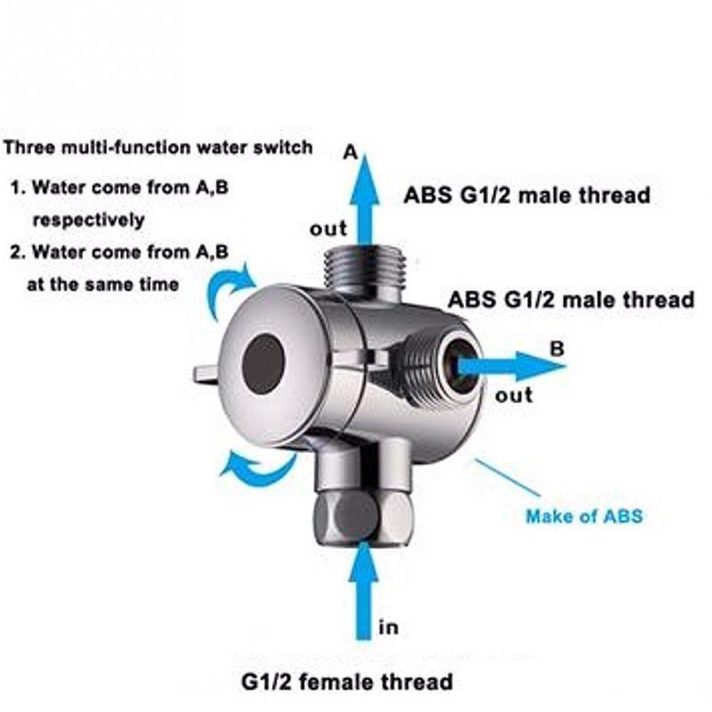 G1 2 Three Head Function Switch Adapter Control Valve 3 Way Tee