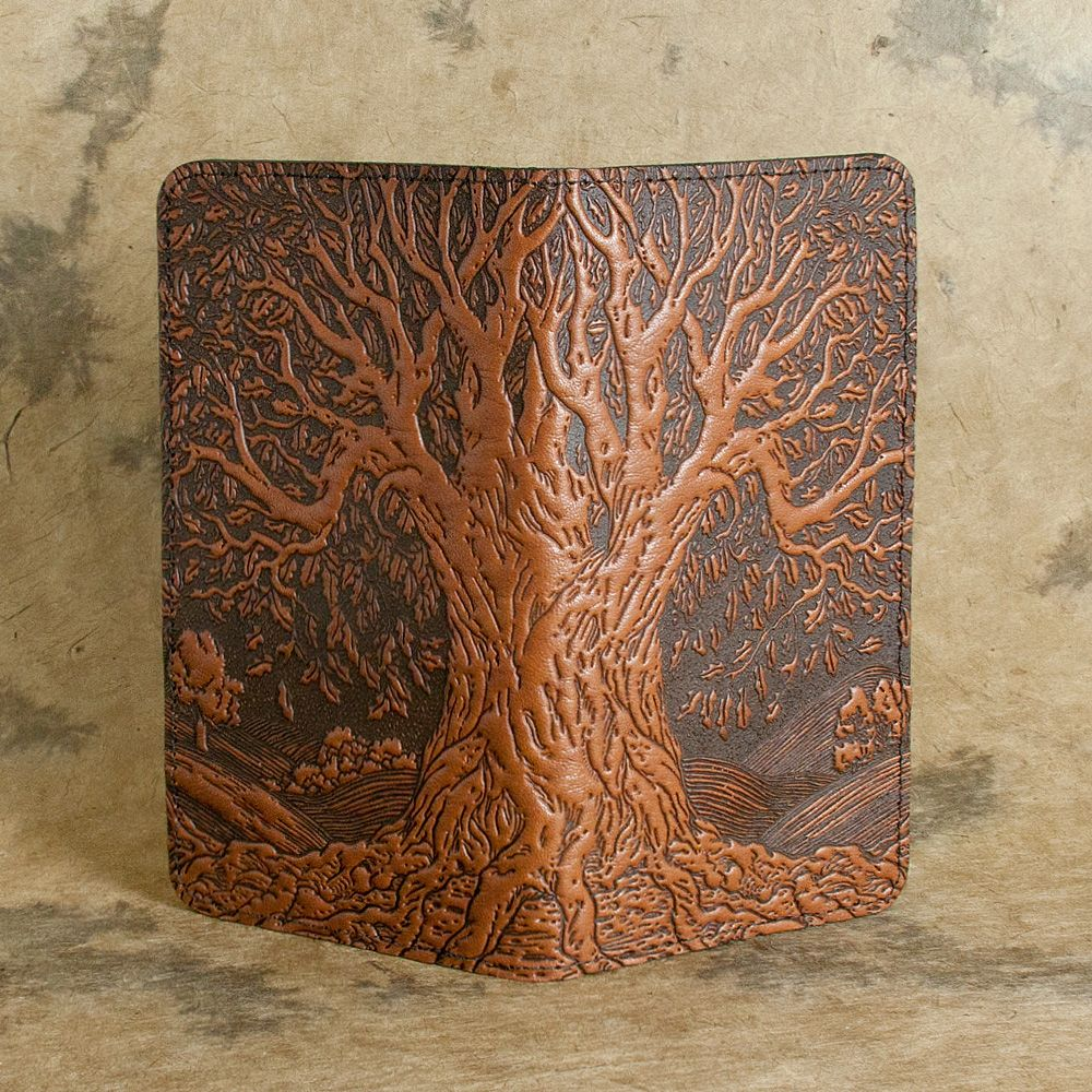 3aec90b927 Tree of Life Smart Phone Leather Wallet by Oberon design.