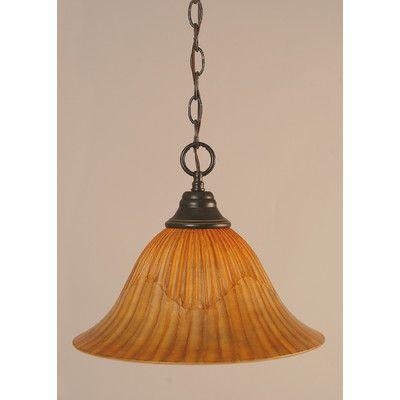 1 Light Downlight Pendant | Wayfair