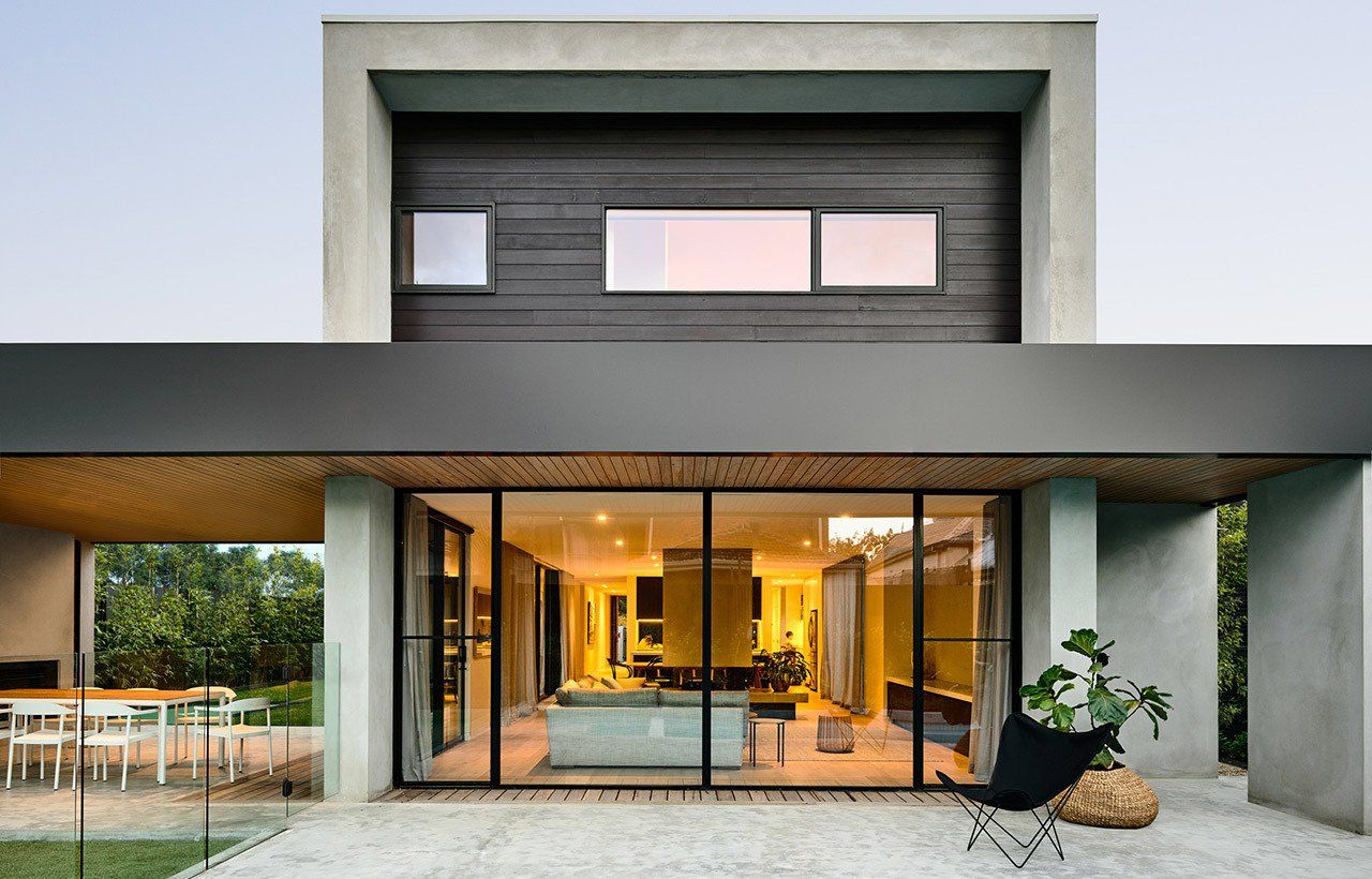 Brighton 5 By Inform Modern Home In Brighton Victoria Australia By Interior Architecture Design Architecture Design Australian Homes