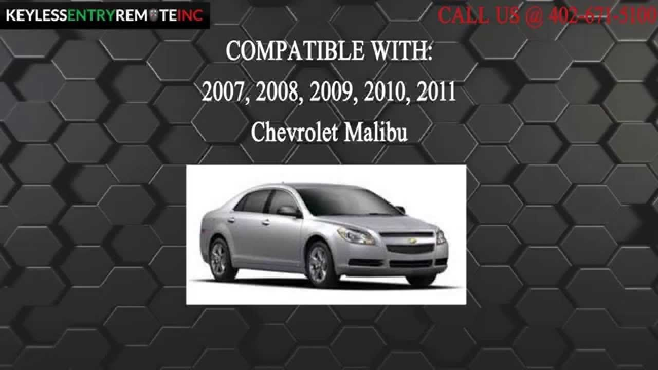 How to replace chevrolet malibu key fob battery 2007 2008