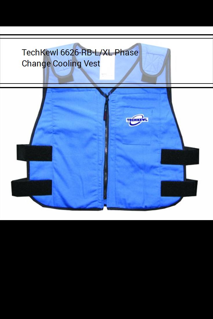 Techkewl 6626 Rb L Xl Phase Change Cooling Vest Cooling Vest Vest