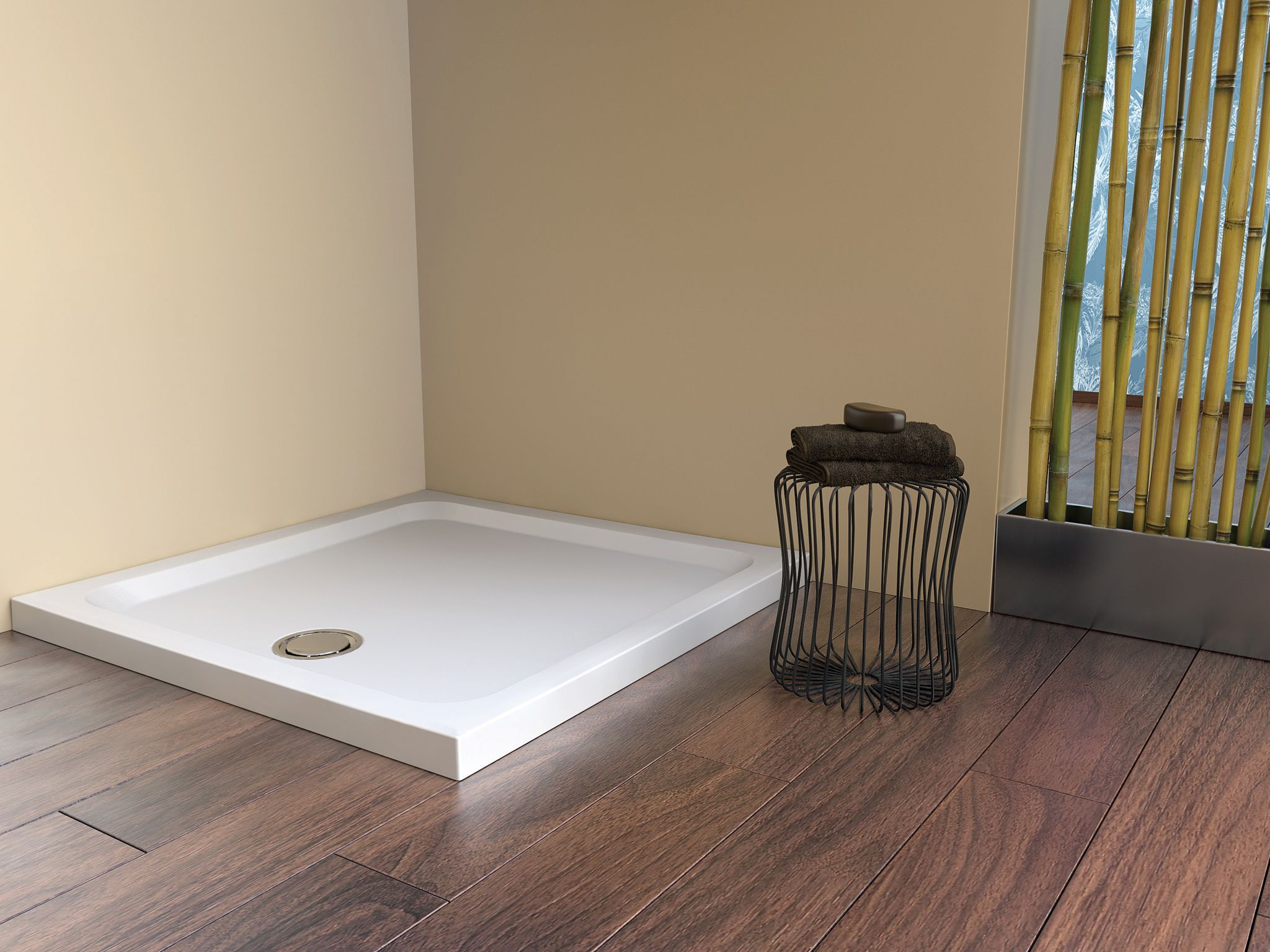 Fineline 60 Shower Trays low profile, rigid, hard-wearing slip ...