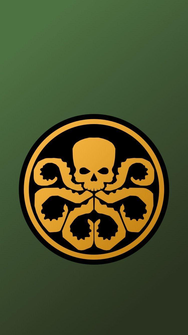 Hail Hydra Hydra Marvel Avengers Symbols Marvel Wallpaper