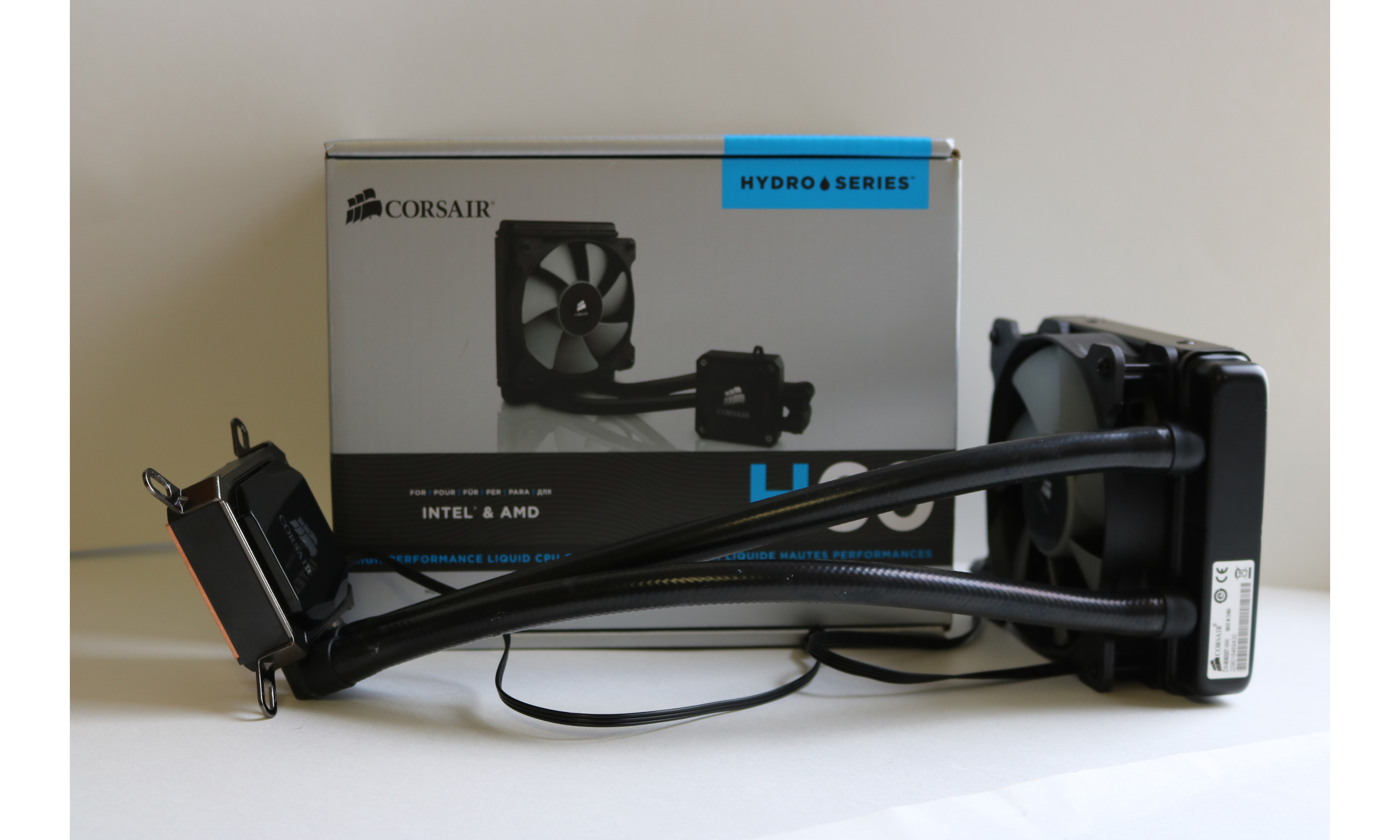 Corsair H60 Aio Liquid Cooler Review Cooler Reviews Cooler Technology