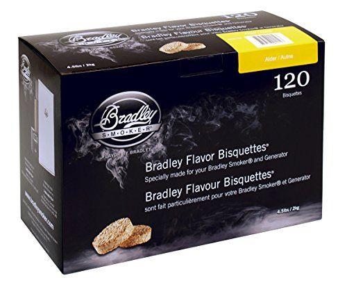 Bradley Smoker Alder 120 Pack Chips From Natural Hardwoods And Fruitwoods The Bradley Smoker Consumes Bisquettes At The Rate Of Appro Baguets Ahumado Plancha