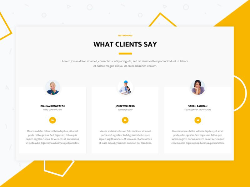 Testimonials Testimonials Design Testimonials Web Design Website Testimonials