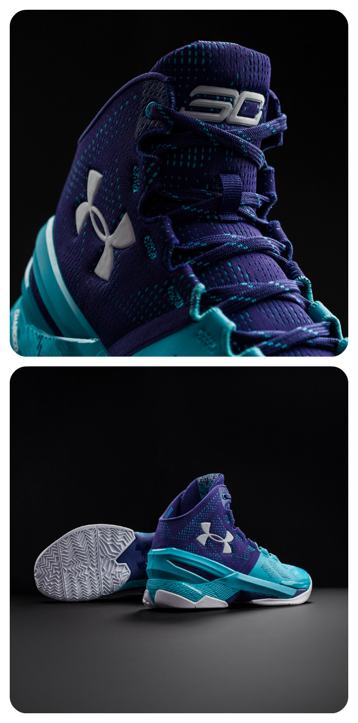 160ec7fc89d The popular  Father to Son  colorway has been re-skinned on the Under  Armour Curry 2.