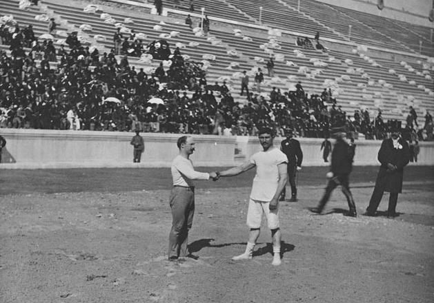 Today in History 1896  First Modern Age Olympic Games Begin