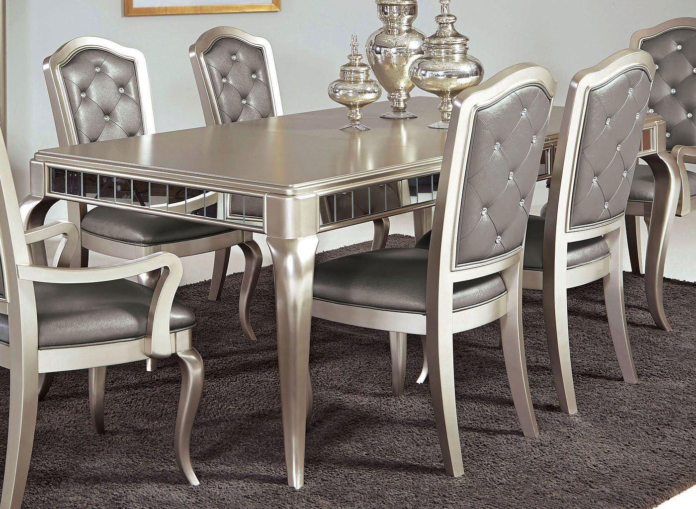 16++ Bennox dining room table and chairs with bench Best Seller