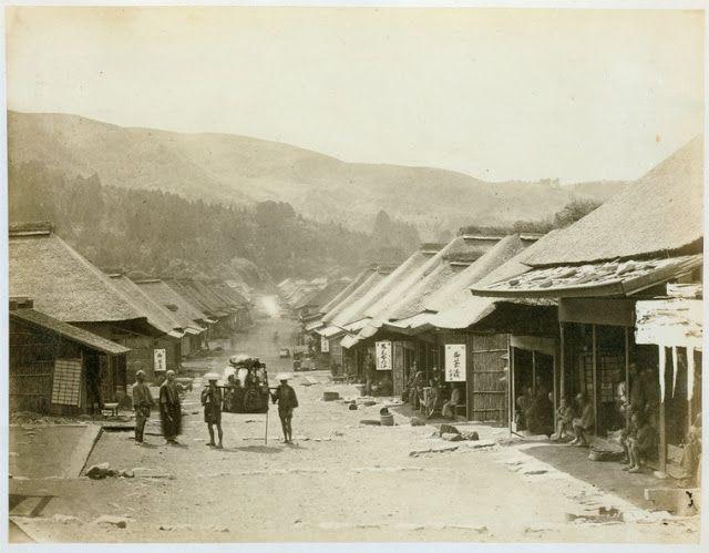 Yokohama - Japan, Edo period (1864 - 1884) by Felice Beato