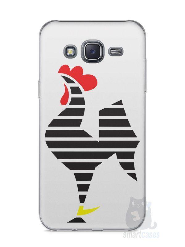 Capa Capinha Samsung J5 Time Atlético Mineiro Galo #2 - SmartCases - Acessórios para celulares e tablets :)