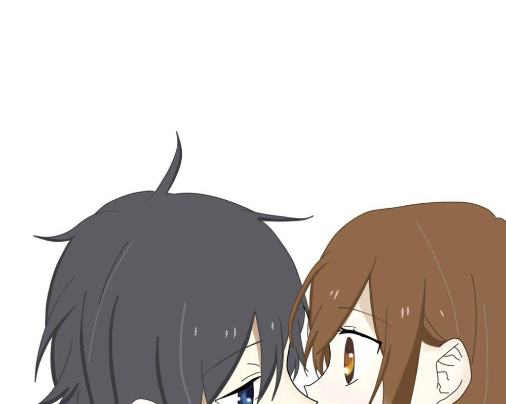Horimiya first kiss by on