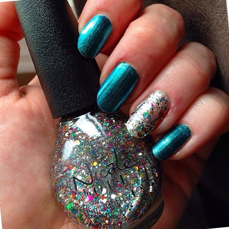 Nicole OPI Sea-ing is believing | Polish Collection Board ...