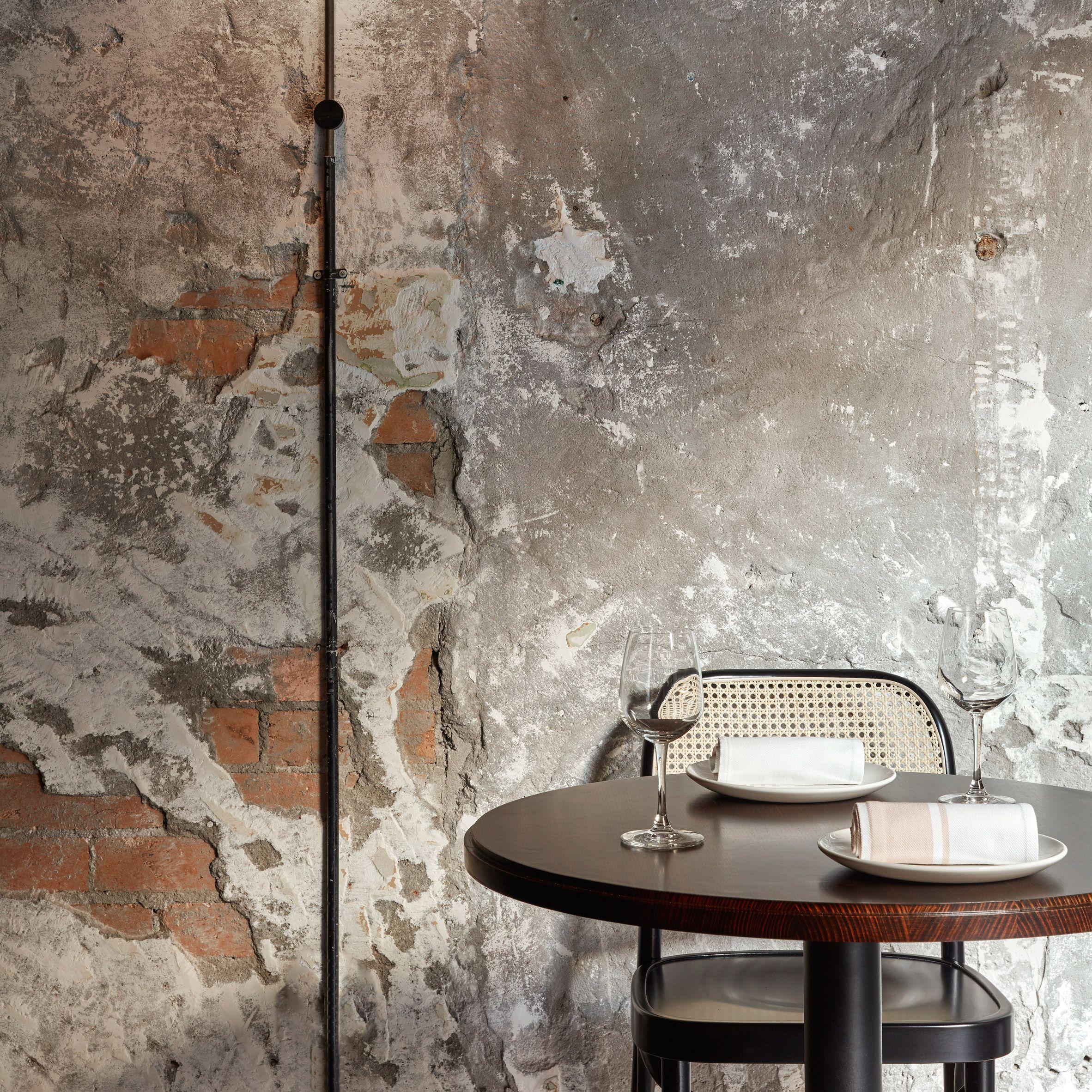 Pentolina Restaurant By Biasol Restaurant Design Pink Marble