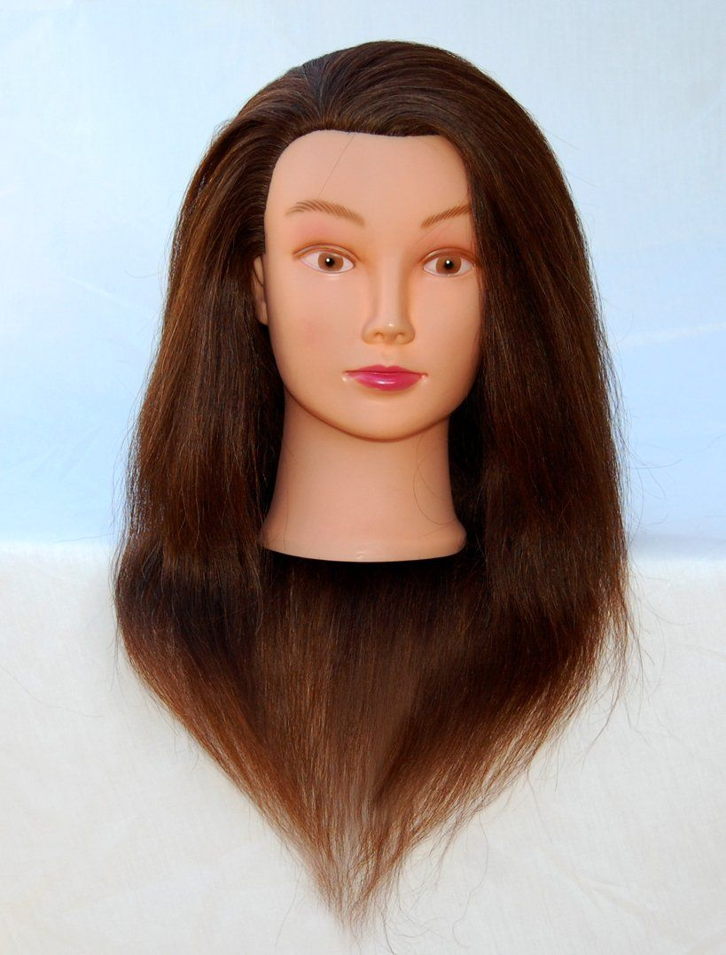 Zvena Beauty 22 100% Human Hair Cosmetology Mannequin Manikin Training Head - ANNIE *** This is an Amazon Affiliate link. Find out more about the great product at the image link.