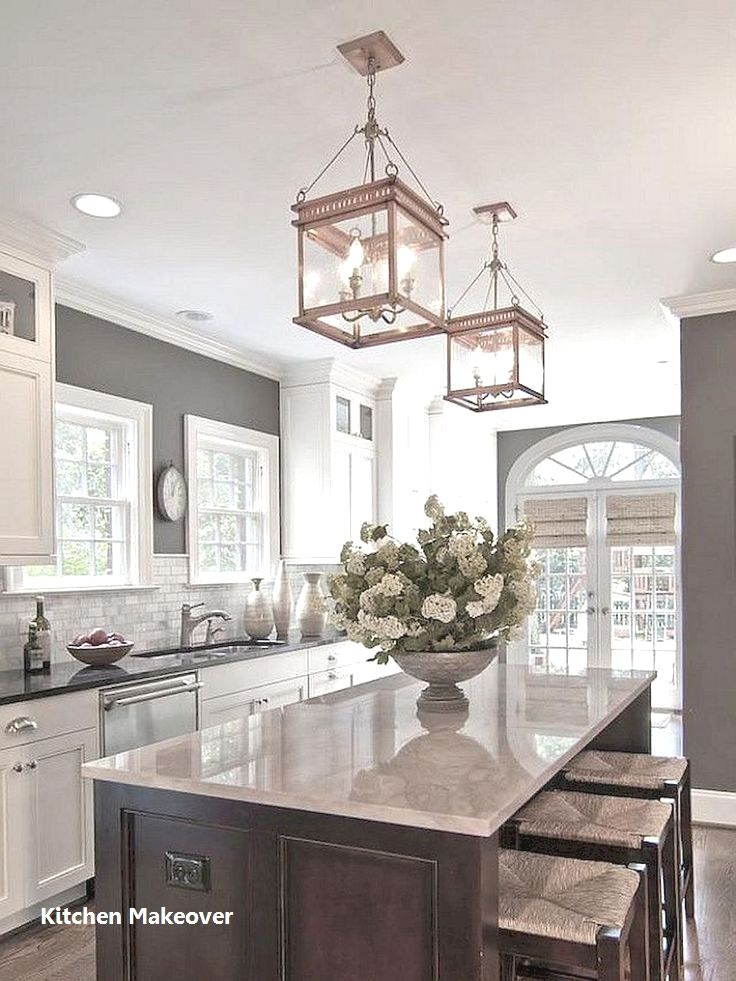 New Kitchen Makeover Ideas #kitchenmakeovers