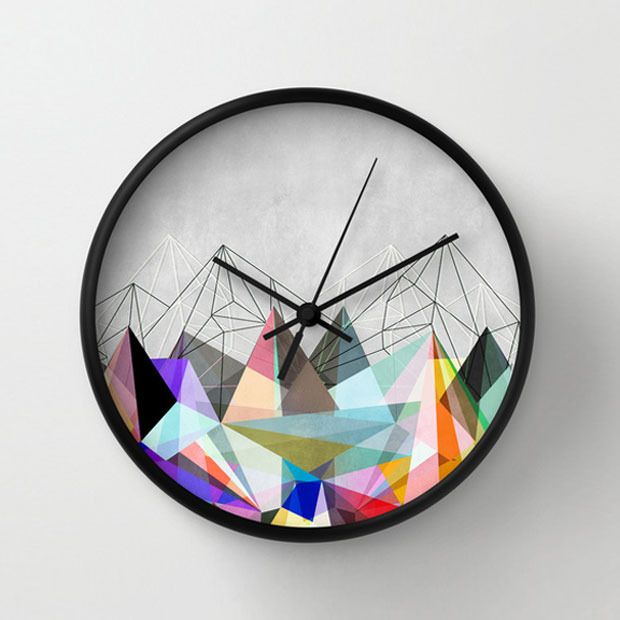 fresh idea whimsical clocks. Once utilitarian clocks have found new life as playful and artsy decorating  pieces in trendy contemporary homes Color Spike Clock New Studio Ideas Pinterest Clocks Modern
