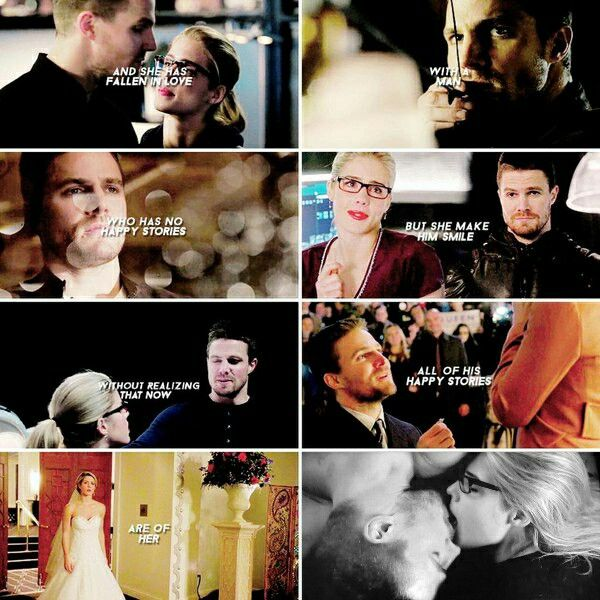 My happy story started when I met you - Olicity #Arrow