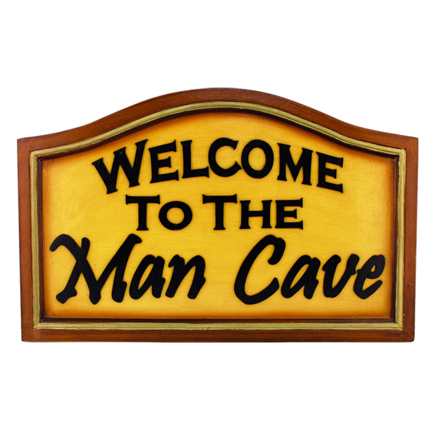 RAM Game Room \'Welcome to the Man Cave\' Hanging Wall Decor (R179 ...