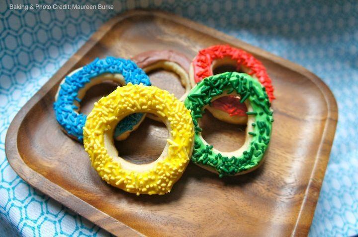 #Olympics Rings Cookies