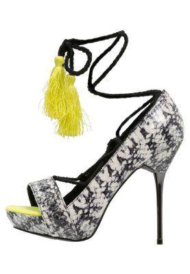 Sandaalit nilkkaremmillä - multicoloured