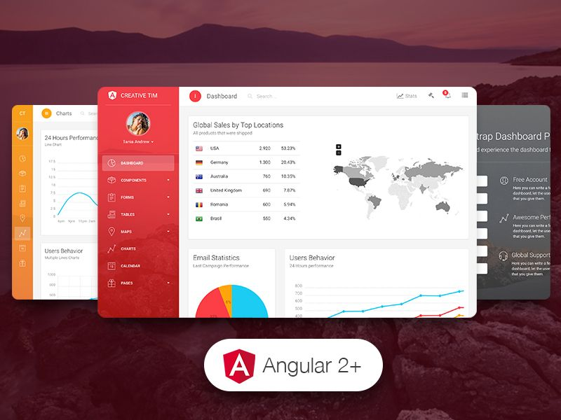 Get 30% Off Light Bootstrap Dashboard Pro Angular 2 Coupon