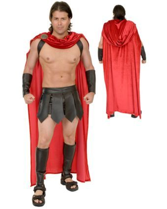 Adult Spartan Warrior Costume Wholesale Greek Costumes for Men - halloween costumes ideas for men